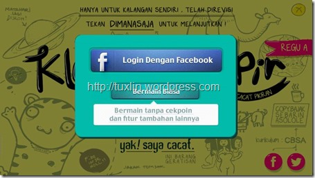 Login FB Klompencapir
