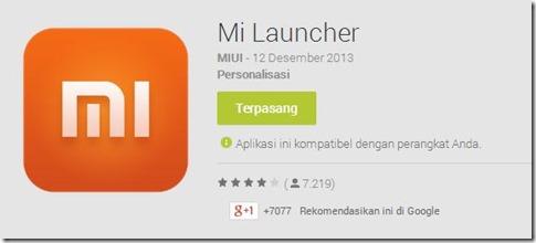 Mi Launcher
