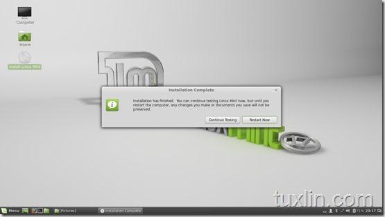 Install Linux Mint 17 Qiana Tuxlin_14