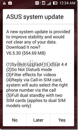 Update Android KitKat Zenfone 4_01