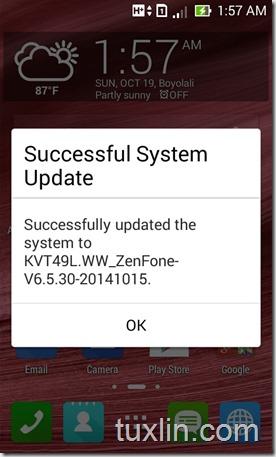 Update Android KitKat Zenfone 4_08