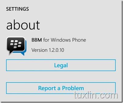 Update BBM Lumia Windows Phone Tuxlin_02
