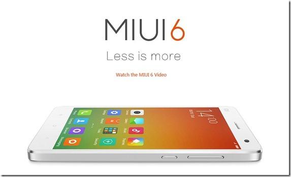Update MIUI 6 Xiaomi Redmi