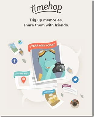 Review Timehop aplikasi mesin waktu di Android Tuxlin Blog01