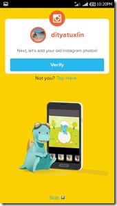 Review Timehop aplikasi mesin waktu di Android Tuxlin Blog06