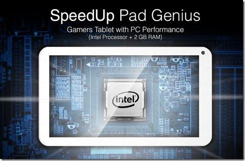 SpeedUp Pad Genius