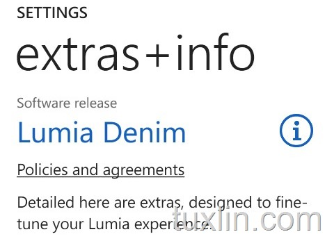 Update Lumia Denim