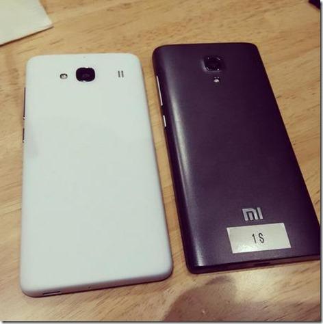 Redmi 1S Dual LTE belakang