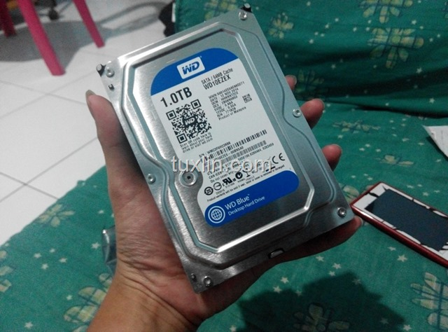 Review Hard Disk WD Blue