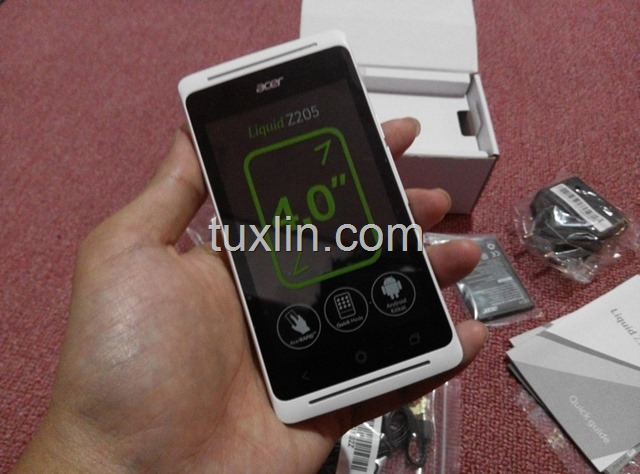 Preview Acer Liquid Z205