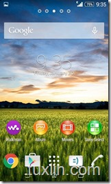 Screenshot Sony Xperia E1 Tuxlin Blog13