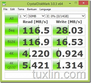 CrystalDisk Mark x64