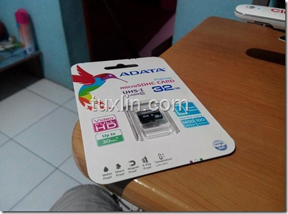 Review MicroSD Adata Premier 32GB Tuxlin Blog01