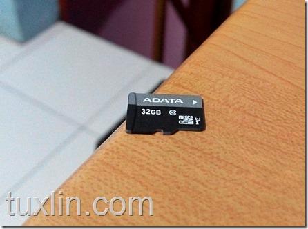 Review MicroSD Adata Premier 32GB Tuxlin Blog03