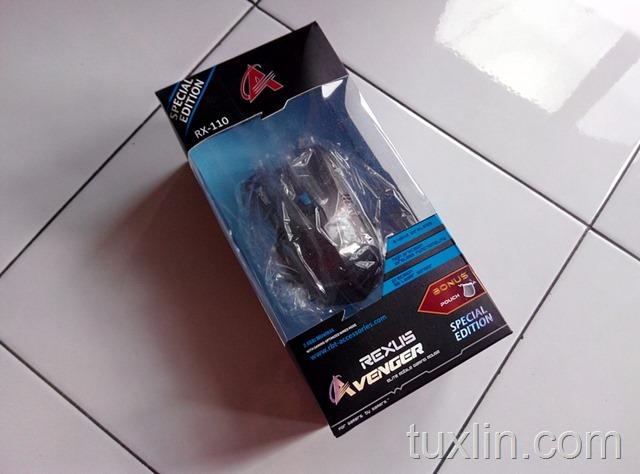 Review Mouse Rexus Avenger RX110