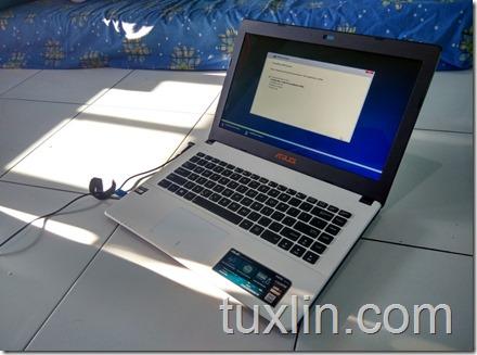 Asus X452EA-VX086D AMD E-2 3800 quad-core Tuxlin Blog13
