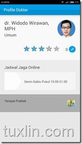 Review Aplikasi Chat Doctor Tuxlin Blog07