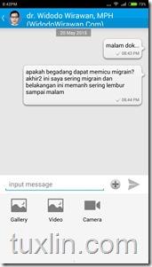 Review Aplikasi Chat Doctor Tuxlin Blog10