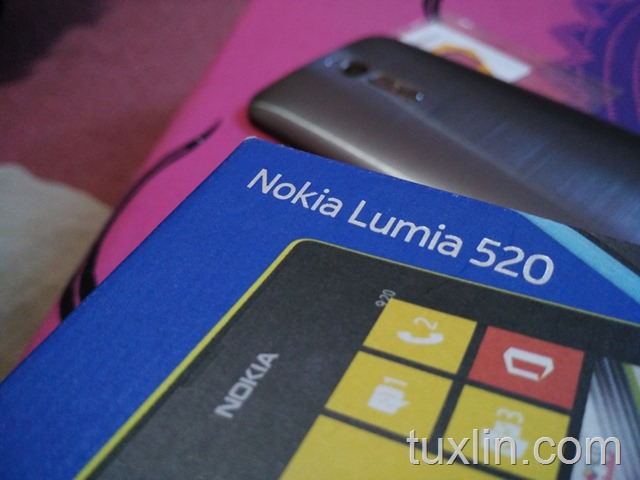 Berpisah dari Nokia Lumia 520