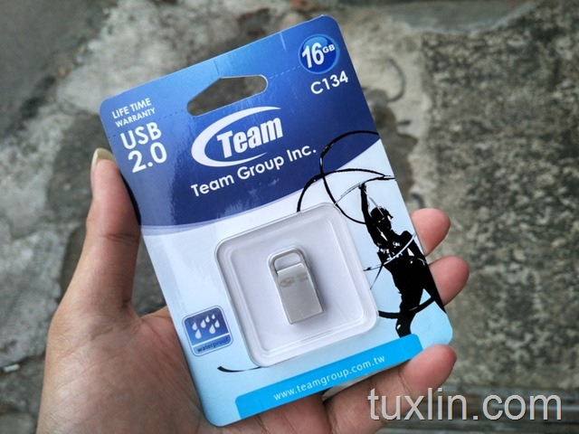 Review Flashdisk C134 16GB