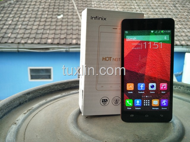 Review Infinix Hot Note X551