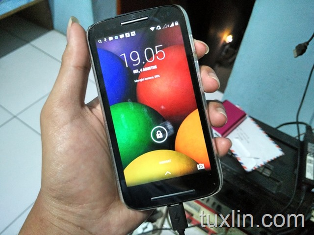 Langkah Upgrade Android 5.1 Lollipop di Motorola Moto E