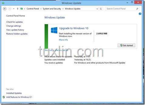 Screenshots Upgrade Windows 10 Tuxlin Blog01