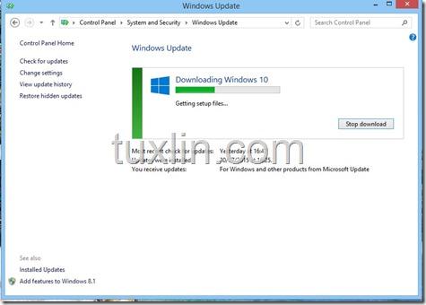 Screenshots Upgrade Windows 10 Tuxlin Blog03