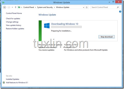 Screenshots Upgrade Windows 10 Tuxlin Blog05