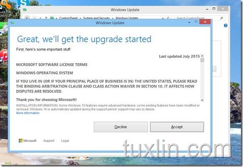 Screenshots Upgrade Windows 10 Tuxlin Blog06