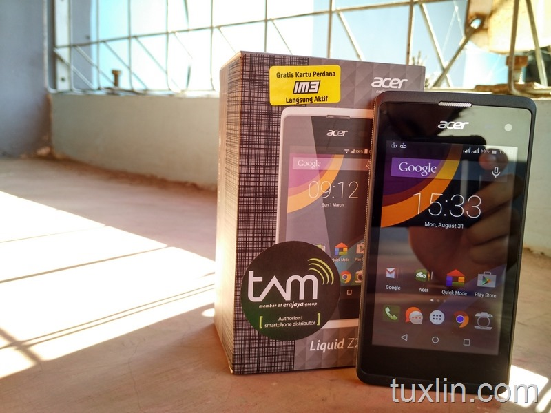 Review Acer Liquid Z220