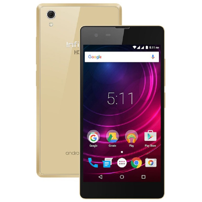 Infinix Hot 2 Gold