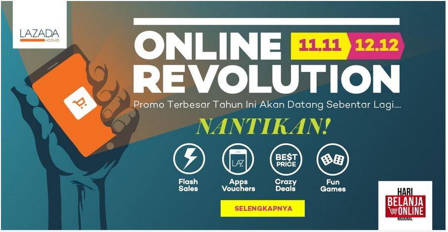 Online Revolution Lazada
