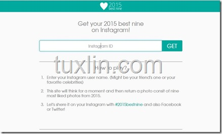 Cara Bikin 2015 Best Nine di Instagram