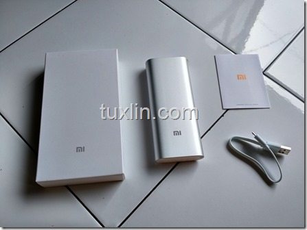 Paket Penjualan Xiaomi Power Bank 16000mAh