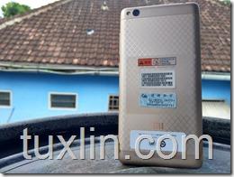 Design Xiaomi Redmi 3