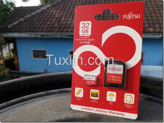 Performa Fujitsu MicroSDHC 32GB
