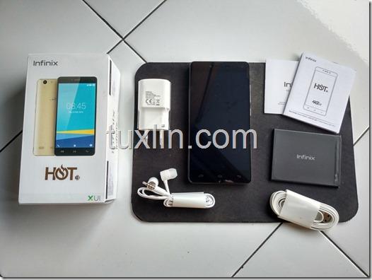 Paket Penjualan Infinix Hot 3 X553
