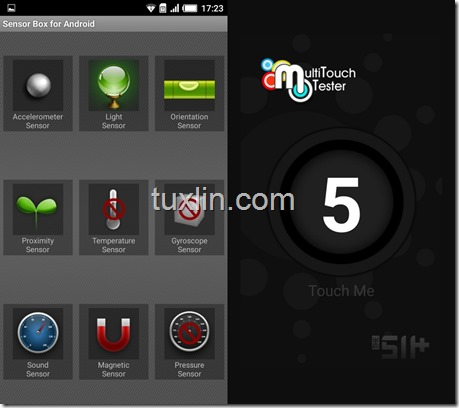 Sensorbox for Android & Multitouch Tester Infinix Hot 3 X553