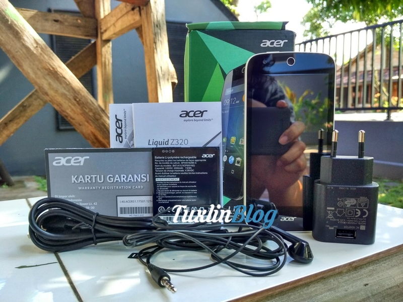 Paket Penjualan Acer Liquid Z320