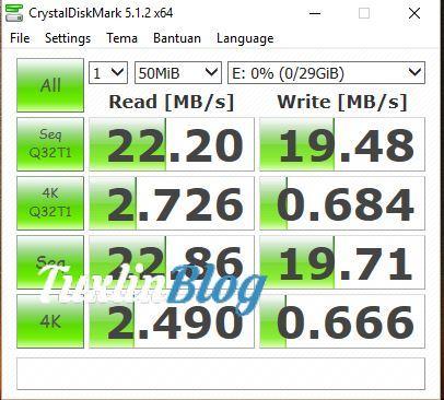 Benchmark Remax 32GB MicroSDHC