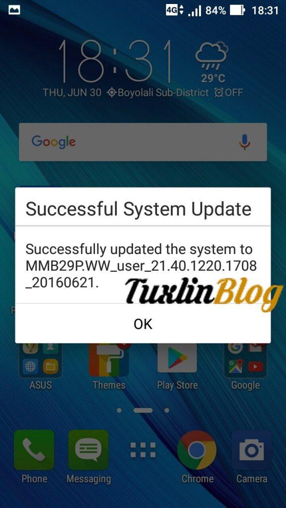 Cara Update Android Marshmallow Asus Zenfone 2 Laser ZE550KL Tuxlin Blog_11