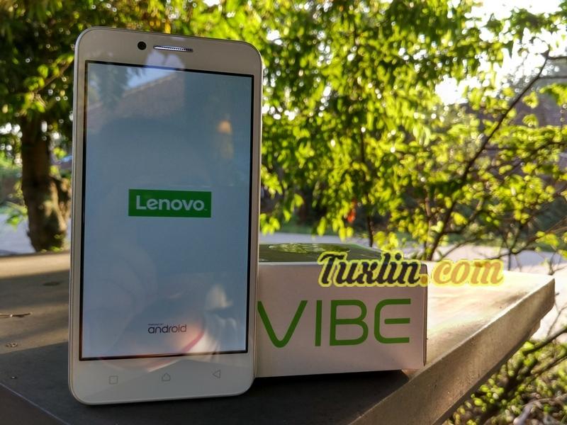 Penampilan & Desain Lenovo Vibe C