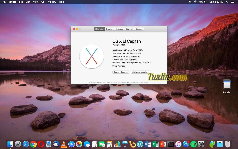 Software Apple Macbook Air MMGF2
