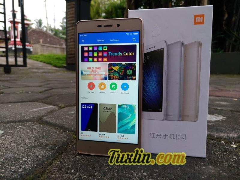 Desain Xiaomi Redmi 3X
