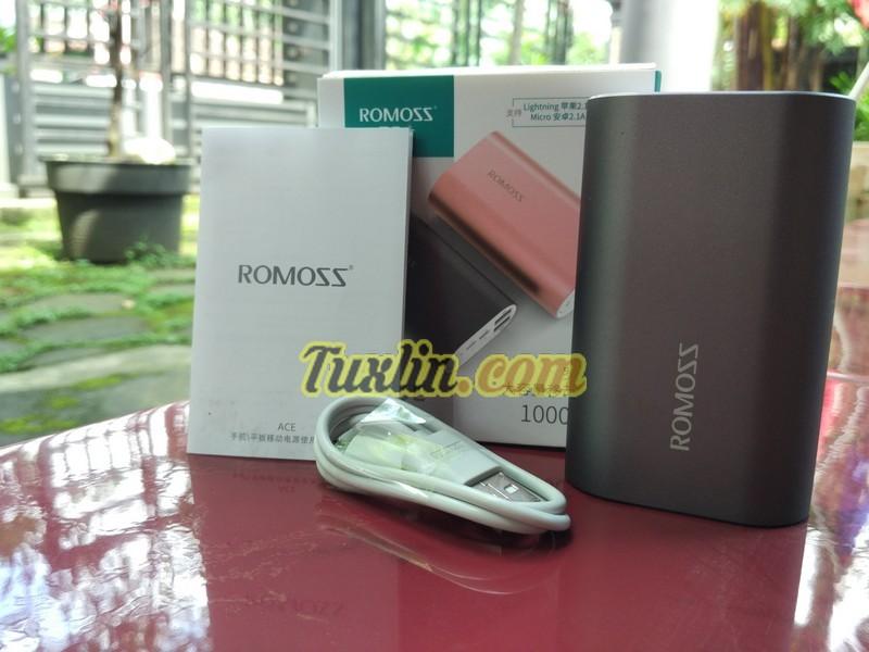 Paket Penjualan Romoss Ace 10000mAh