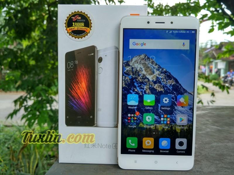 Desain Xiaomi Redmi Note 4