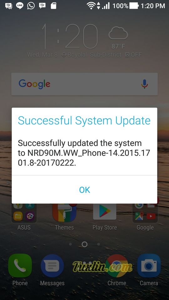 Update Android 7.0 Nougat