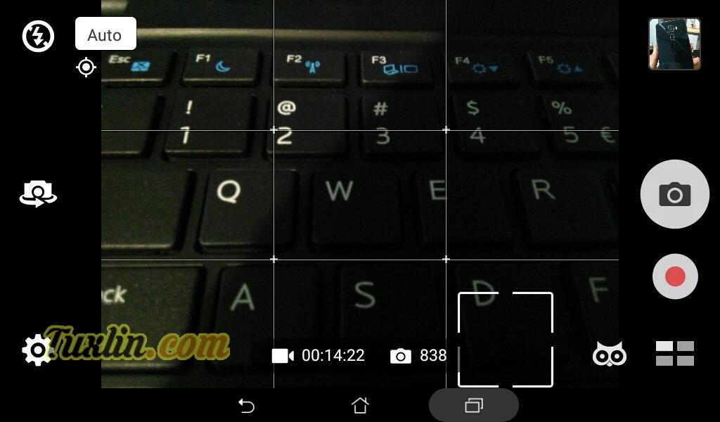 Antarmuka & Fitur Kamera Asus Zenfone Go ZB690KG