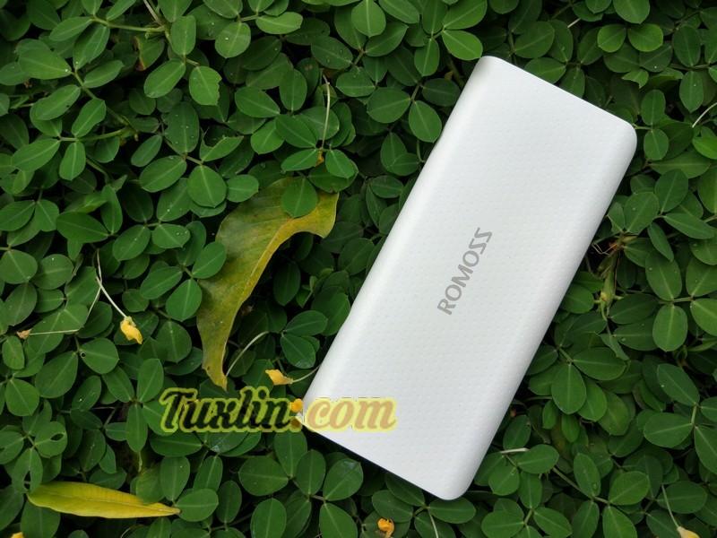 Review Romoss Sense 4 LED 10400mAh Power Bank